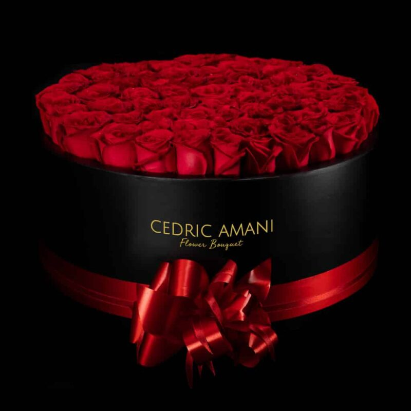 Gorgeous Red Rose Box!