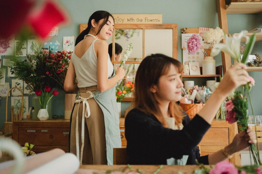 How to Open A Flower Shop Online in 2021