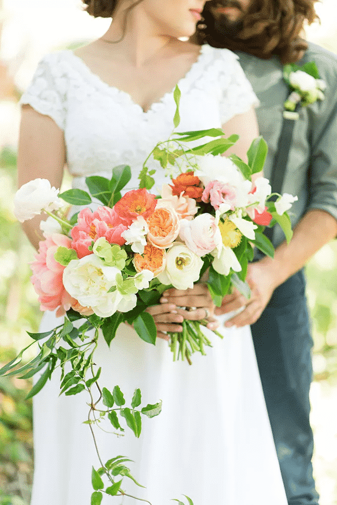 Peonies as Accent Flowers