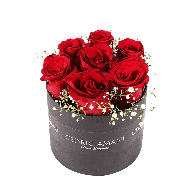 Red Flowers in a Box