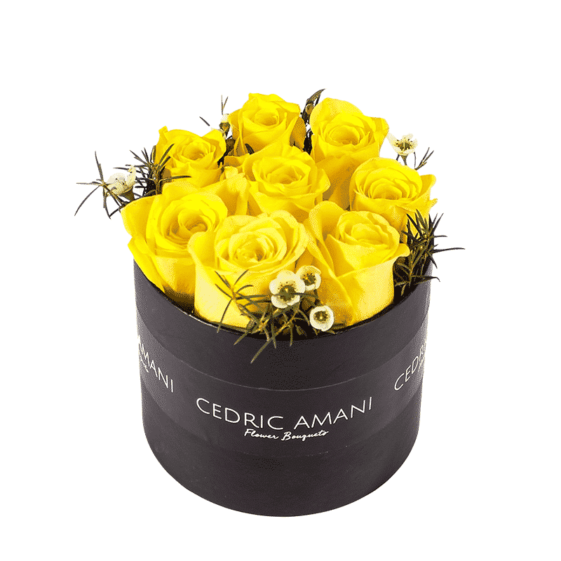 Yellow Flower in a Box